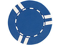 Grand Straight Royale 25 Spiel-Chips, blau-weiß im Stripes-Design, 11,5g