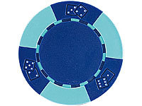 Grand Straight Royale 25 Deluxe-Chips 11,5 g Dice Design dunkelblau/hellblau