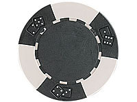 Grand Straight Royale 25 Deluxe-Chips 11,5 g Dice Design schwarz/grau